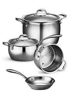 Tramontina Gourmet Domus Tri-Ply Base Cookware Collection - Online Only