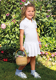 Ralph Lauren Childrenswear Stretch Polo Dress Girls 4-6x