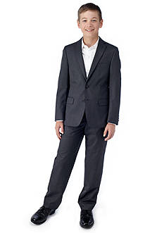 LAUREN Ralph Lauren Dress Apparel Grey Suit Boys 8-20