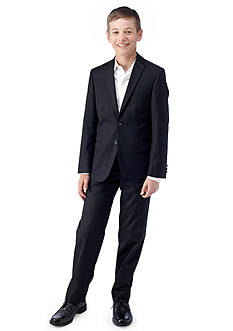 LAUREN Ralph Lauren Dress Apparel Black Suit Boys 8-20