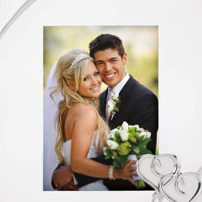 Designer Picture Frames: Silver Plate Lenox TRUE LOVE 8X10 FRAME