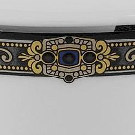 For the Home: Gold Rimmed Sale: Cobalt Lenox Vintage Jewel 5-Piece Place Setting