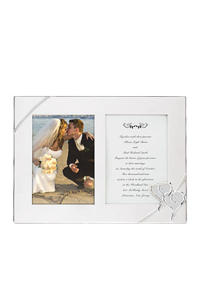 Lenox® True Love Double Invitation 5x7 Frame