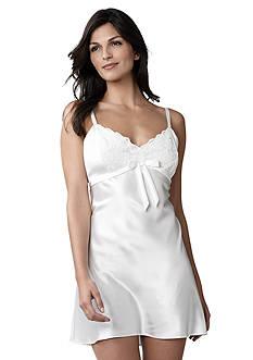 Jones New York Satin With Lace Detailed Chemise