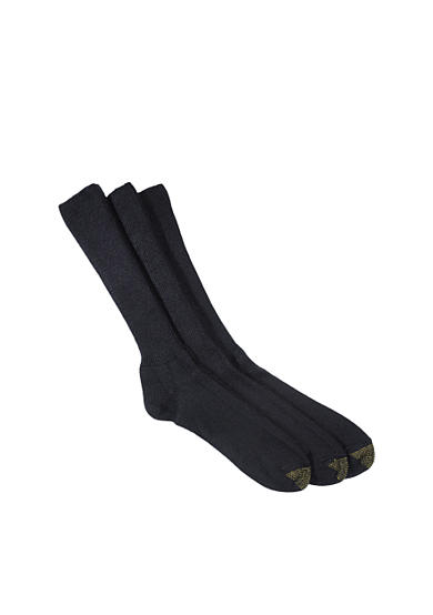Gold Toe® Big & Tall Fluffies 3 Pk Socks