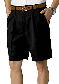 Haggar Big & Tall Cool 18® Classic-Fit Pleated Shorts