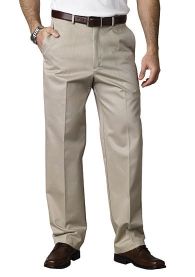 Haggar® Classic Fit Work To Weekend™ Flat Front Wrinkle-Free Pant