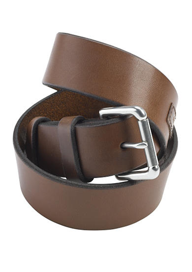 Polo Ralph Lauren Saddle Logo Patch Leather Belt
