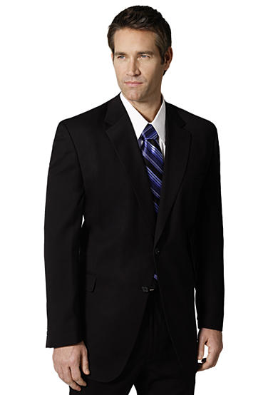 Saddlebred® Classic Comfort Big & Tall Black Suit Separate Coat