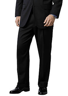 Saddlebred® Classic Comfort Big & Tall Black Suit Separate Pants