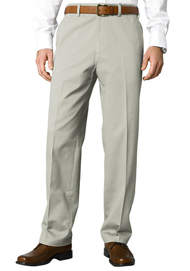 Savane® Big & Tall Chino Flat Front Wrinkle-Free Pants