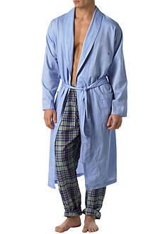 Polo Ralph Lauren Woven Robe Blue Royal Oxford