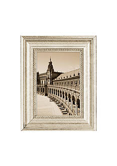 Burnes of Boston Capri Silver 4x6 Frame