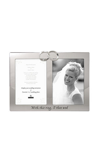 Malden Wedding Ring 2-Opening 5x7 Frame