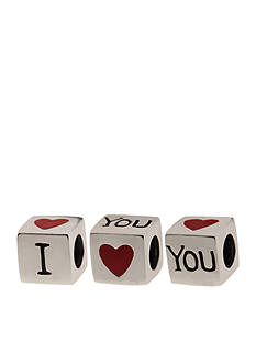 Belk Silverworks I Heart You Originality Bead