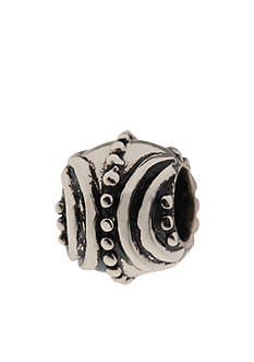 Belk Silverworks Patterned Edge Spacer Originality Bead