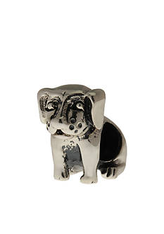 Belk Silverworks Sitting Dog Originality Bead