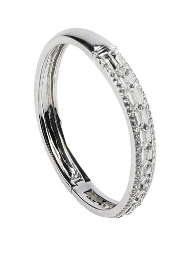 Nadri Crystal Track Bangle