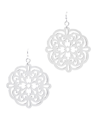 New Directions® Silver-Tone Drop Earring