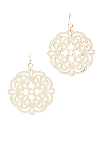 New Directions® Drop Gold-Tone Earring