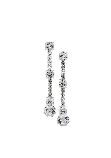 Carolee Crystal Drop Earrings