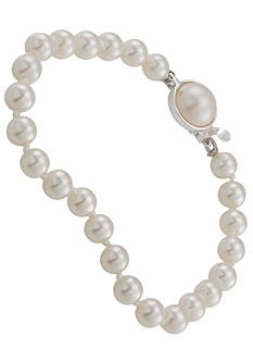 Carolee 6-mm. Simulated Pearl Bracelet