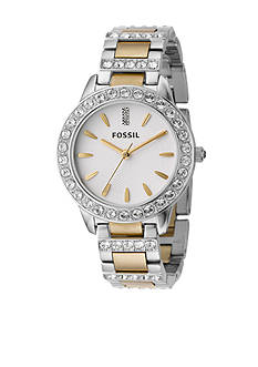 Fossil® Ladies' Glitz Two-Tone Bracelet