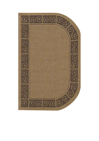 Bacova Chardonnay Scroll Slice Accent Rug