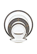Vintage Jewel 5-Piece Place Setting