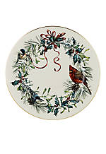 Winter Greetings Dinner Plate 10.75-in.