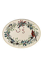 Winter Greetings 16-in. Oval Platter