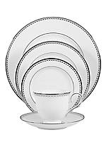 Pearl Platinum 5-Piece Place Setting