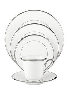 Lenox Solitaire White 5-Piece Place Setting