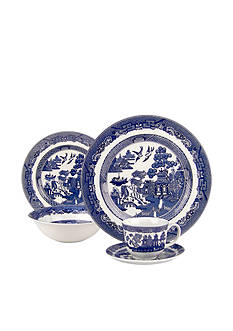 Johnson Brothers Willow Blue 5-Piece Place Setting