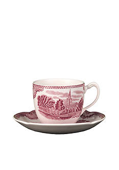 Johnson Brothers Old Britain Castles Pink Tall Tea Cup