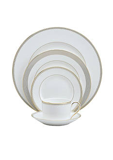 Wedgwood Golden Grosgrain 5-pc Place Setting