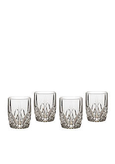 Marquis by Waterford Brookside Double Old Fashioned Glasses Set of 4