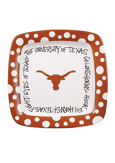 Texas Longhorns Square Plate