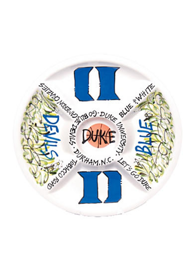 Magnolia Lane Duke Blue Devils Divided Veggie Plate