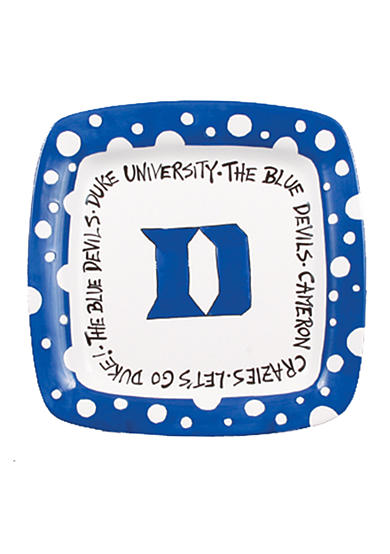 Duke Blue Devils Square Plate