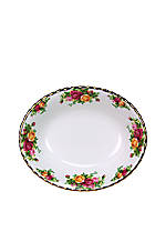 Old Country Roses Open Vegetable Dish