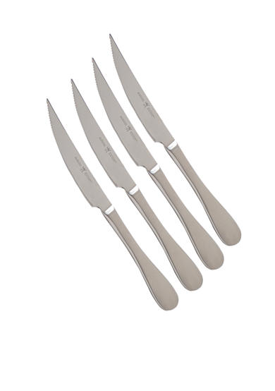 J.A. Henckels International Mansion 4-Piece Stainless Steak Set