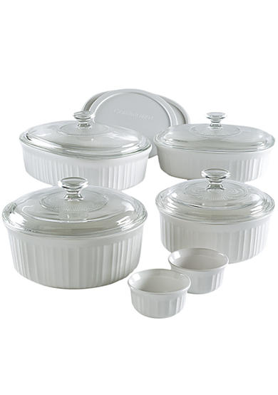 Corningware 12-Piece French White Casserole Set