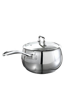 Biltmore® 4-qt. Stainless Steel Belly Shaped Saucepan