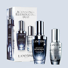 An assortment of Lancome Genifique products. Shop Genifique..