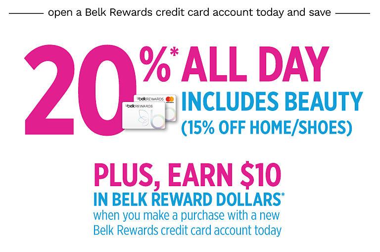 69c34d5df4 Belk Credit Card  Rewards   Benefits