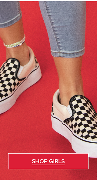 Get your kicks. Fashion sneakers for every mood. Shop Girls.