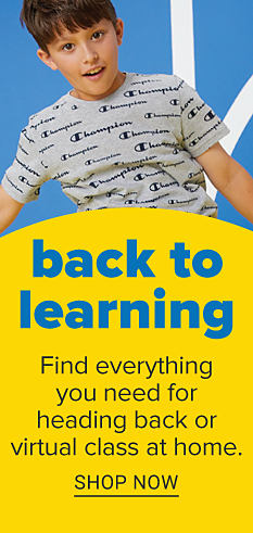 Back to Learning. Find everything you need for heading back or virtual class at home. Shop Now.