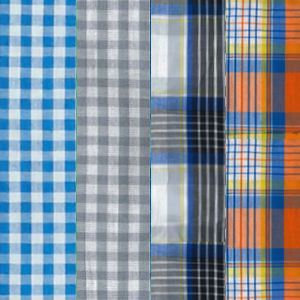 Gingham Blue Assorted