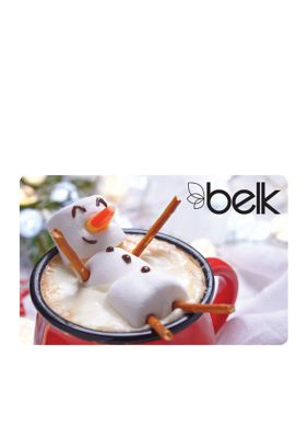 Snowman with Cocoa Gift Card